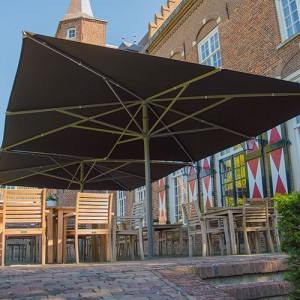 solero parasol pour terrasse et jardin. Black Bedroom Furniture Sets. Home Design Ideas
