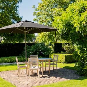 Patio parasol de jardin