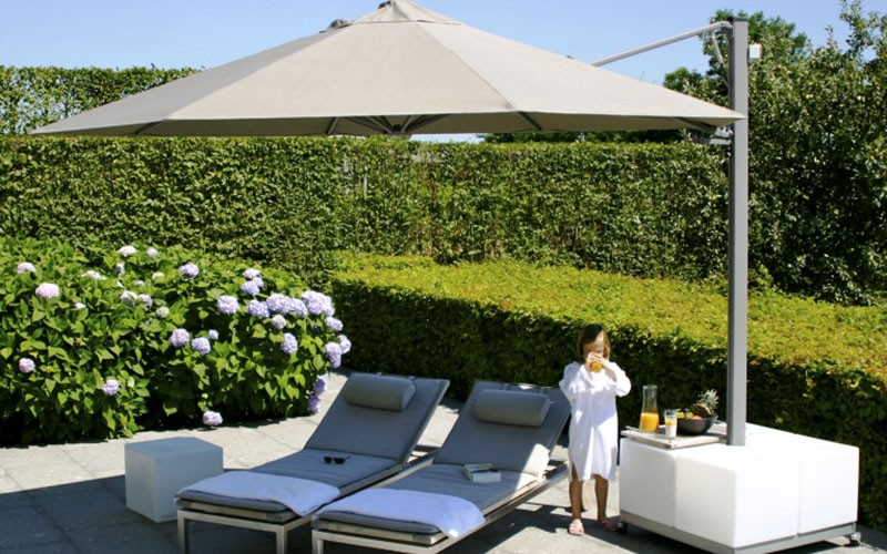 solero prostor parasol de jardin 1 m t quip de 1 4 toiles. Black Bedroom Furniture Sets. Home Design Ideas